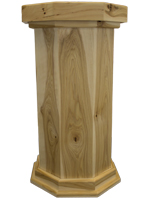 Classic Series Rustic Hickory Taxidermy Pedestal